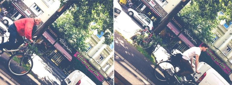 Fahrräder Montage